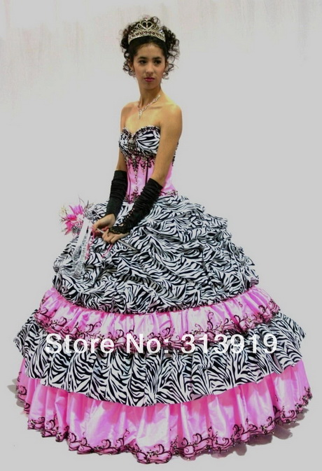 Zebra Print Dresses For Prom 63