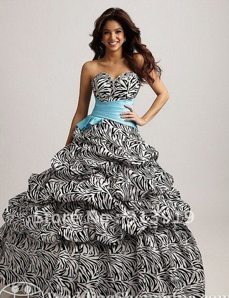 Zebra Print Prom Dresses For 2017 39