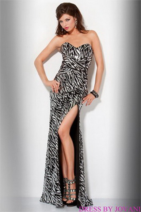 Zebra Print Prom Dresses For 2017 87