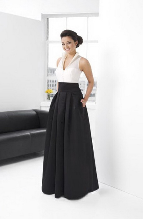 sleeveless satin ruffles high neck black tie event