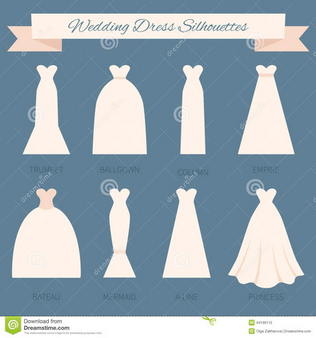 Different wedding dress styles for Wedding dress cuts