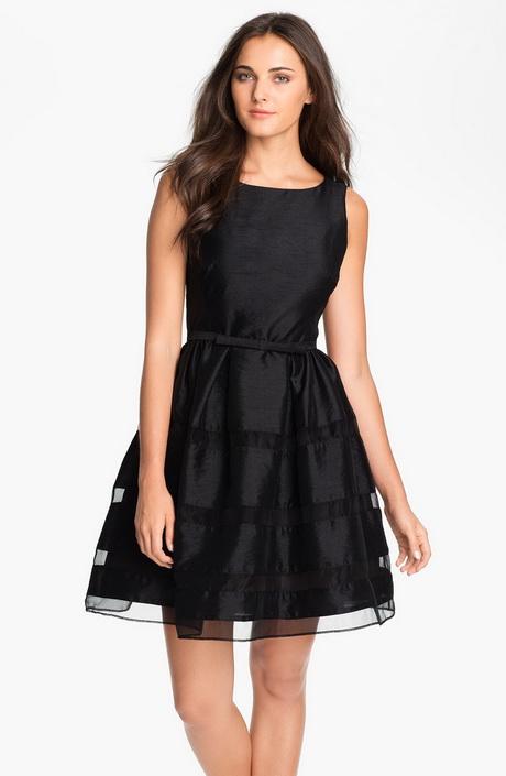 Taylor dresses tonal stripe fit flare dress for women