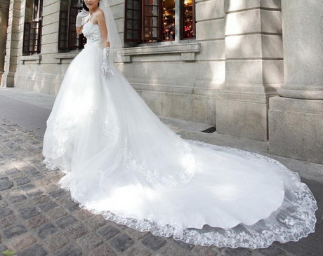 Wedding Dresses With Cathedral Train
