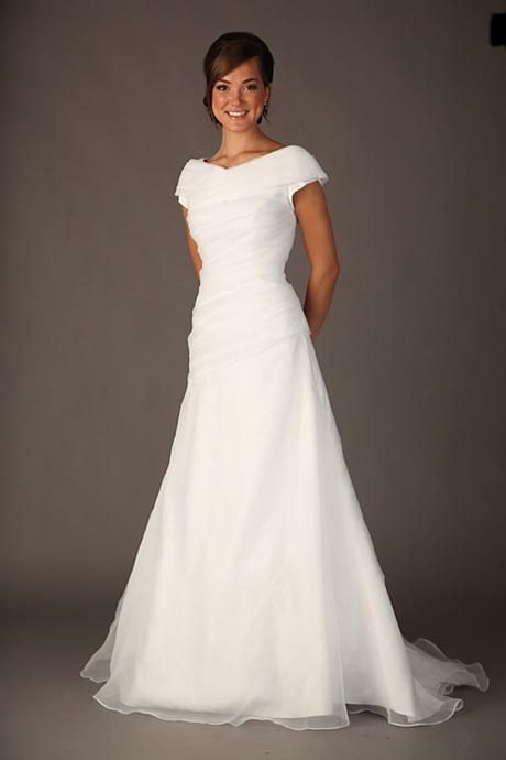 Modest wedding dress for Cheap lds wedding dresses