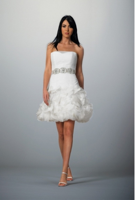 Short designer wedding dresses for Short couture wedding dresses