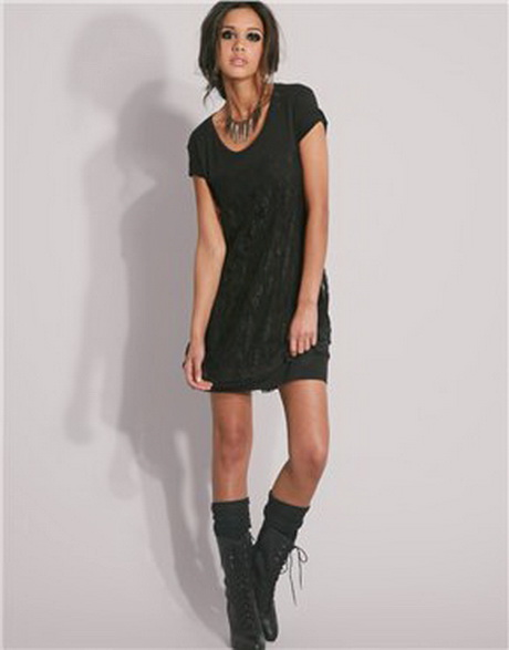 Lastest Puma Gold Collection Tshirt Dress With Metallic Logo In Black  Lyst