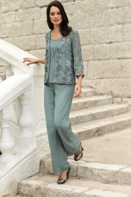 Ladies Evening Wear Trouser Suits Uk 43