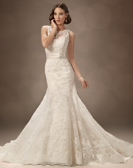 Vintage Inspired Lace Wedding Dresses