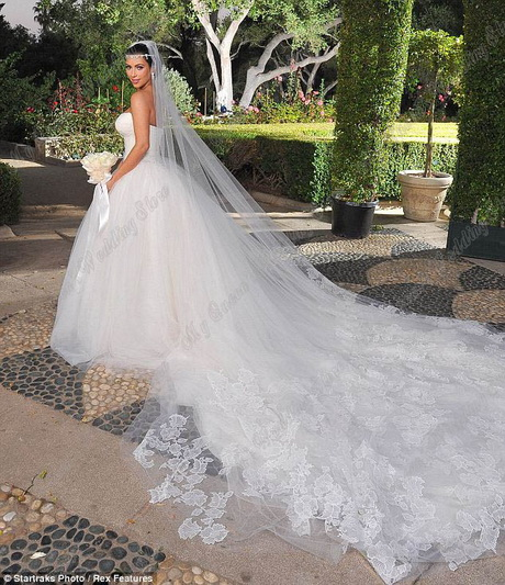 wedding dress royal style simple very long train bridal dress wd088
