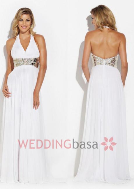 white prom dresses 2015