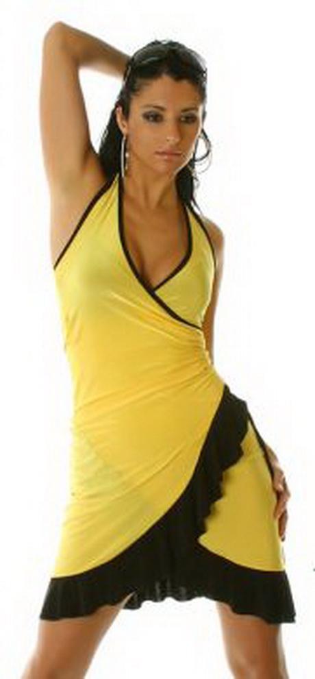 Yellow And Black Dress