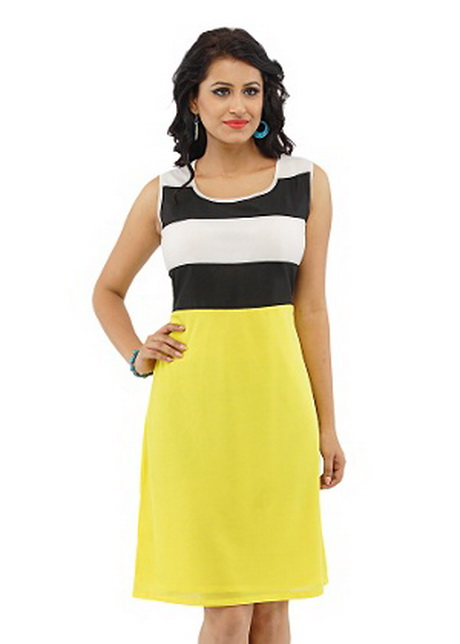 Black And Yellow Dresses