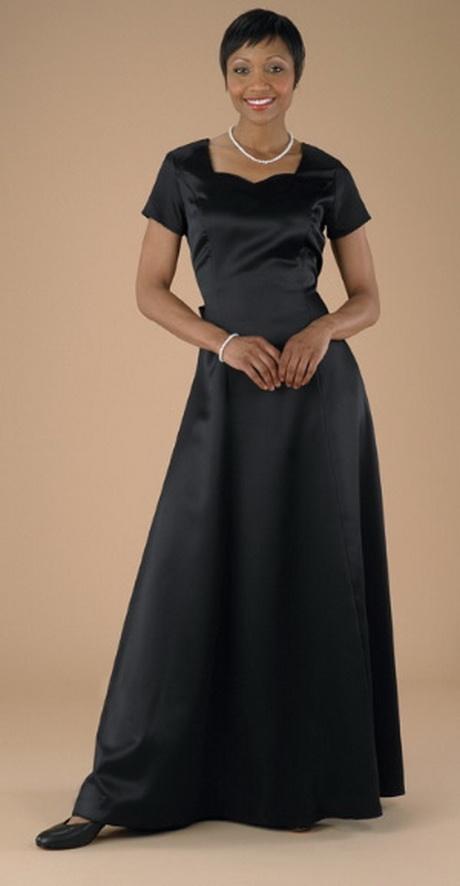 Black Concert Dress