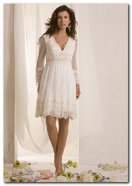 Casual short wedding dresses for Casual informal wedding dress