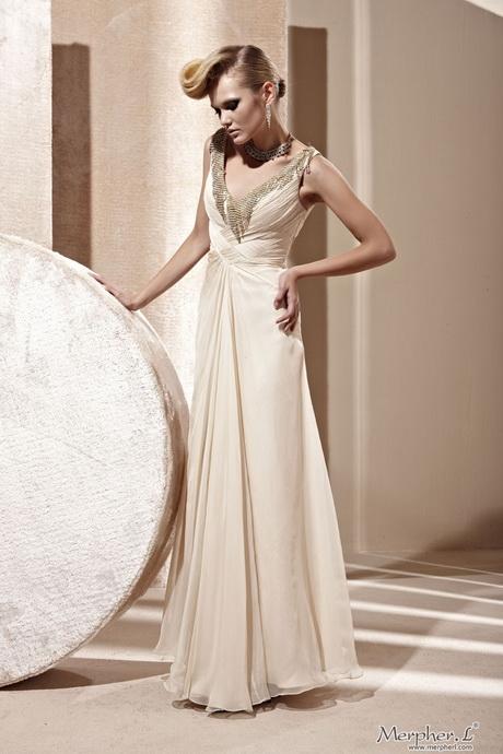 Cream Long Dress
