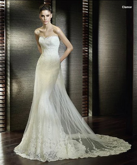 Fishtail Wedding Gowns: Fishtail Lace Wedding Dress