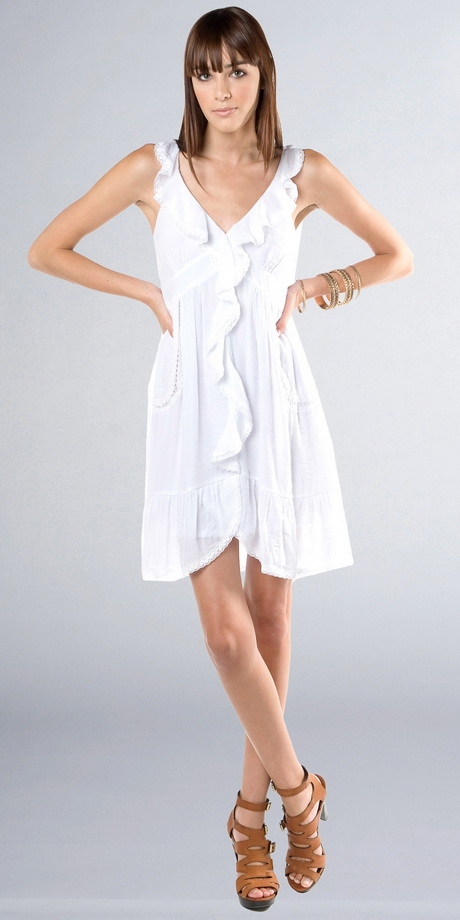 Flowy White Dresses