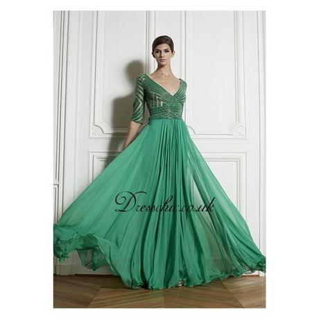 Green Long Prom Dresses 44