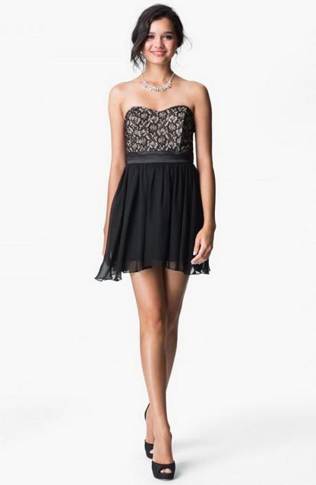 juniors black dresses