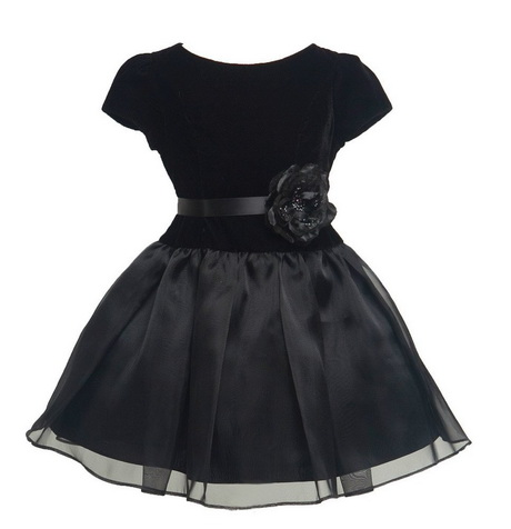 Kids Black Dress