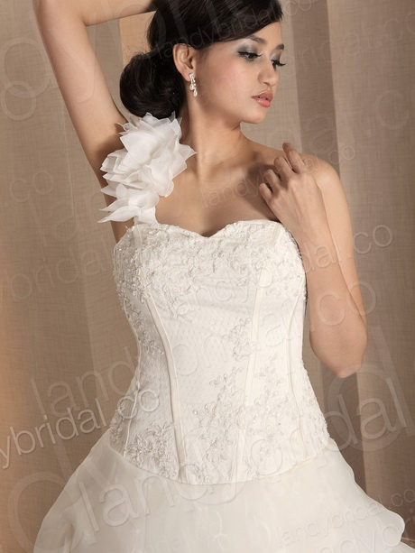 lace up corset wedding dress ld0600 zoom move your mouse over image