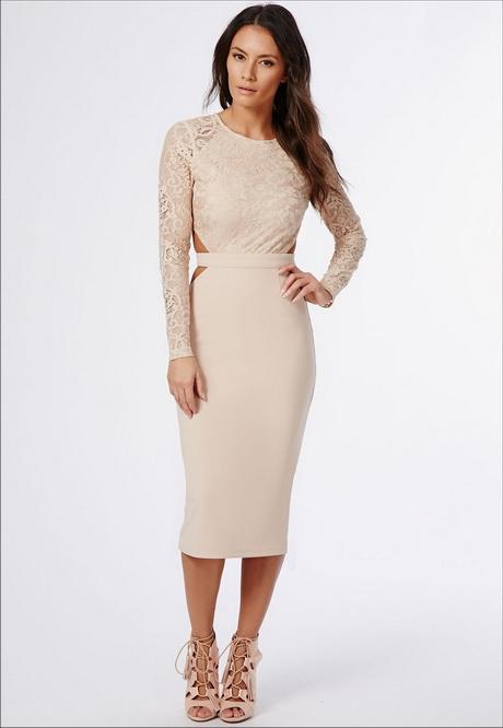 Midi dresses for wedding for Long sleeve wedding guest dress