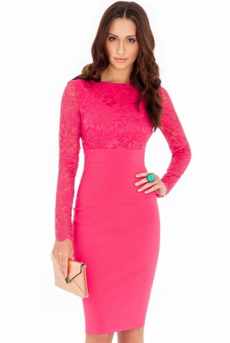 Pink Lace Wedding Guest Dress : Pink dresses for wedding guests