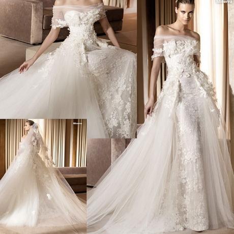 Romantic lace wedding dress for Romantic wedding dress designers