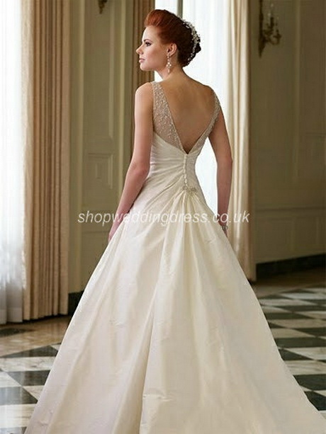 Satin And Lace Wedding Dress
