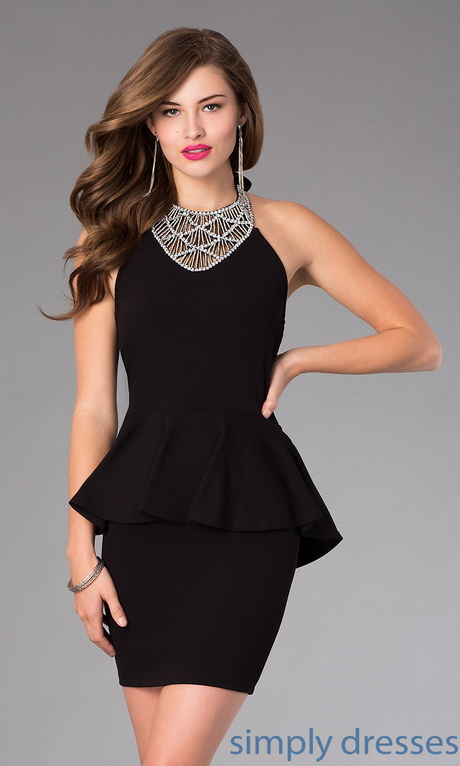 Semi Formal Black Dresses