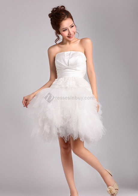 tulle short mini wedding dresse reception wedding dresses prom