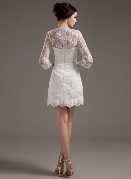 Short ivory wedding dresses for Short ivory wedding dress