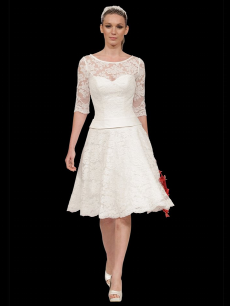 Wedding Dress For Short Brides : Short wedding dresses for older brides uk amore