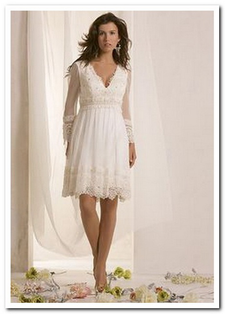 Image Result For Tea Length Wedding Dresses For Older Brides