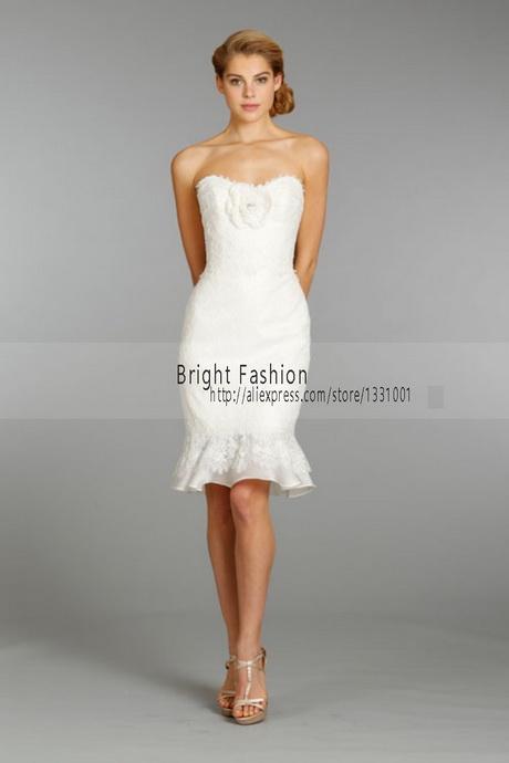 White Wedding Reception Dresses 15