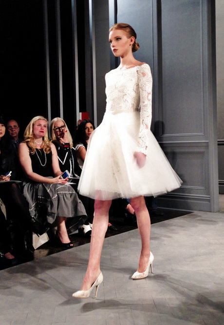 Vera Wang Short Wedding Dresses