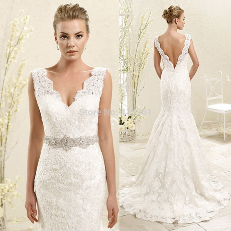 Wedding dresses 2015 lace for Belt for lace wedding dress