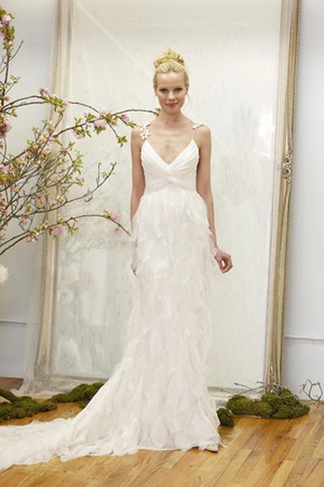 Wedding dresses bohemian for Romantic bohemian wedding dresses