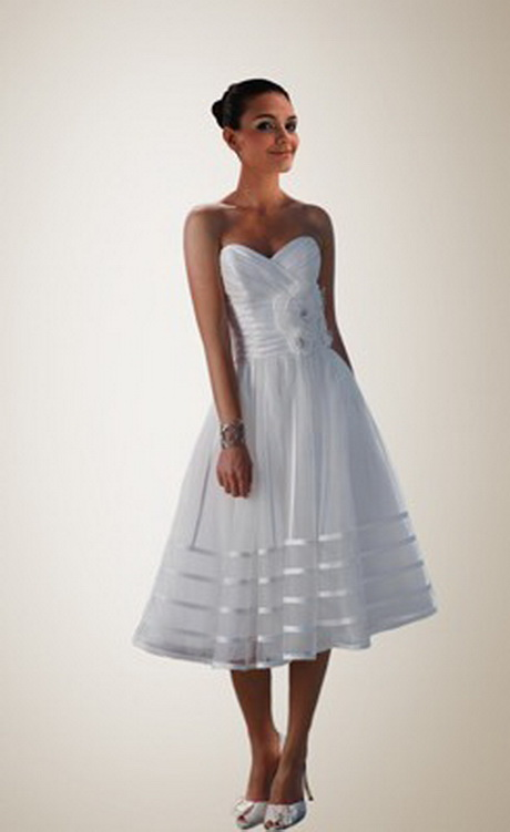 Beach Wedding Dresses Short In Front Long In Back 95