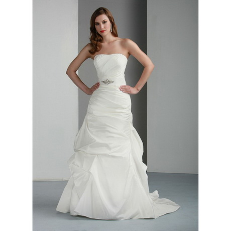 White simple wedding dress for Simple white dresses for wedding