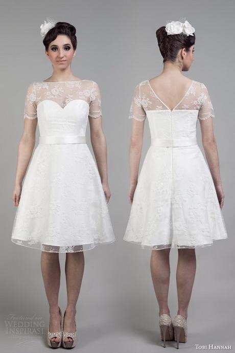 Classic Wedding Dresses Short : Classic short wedding dresses