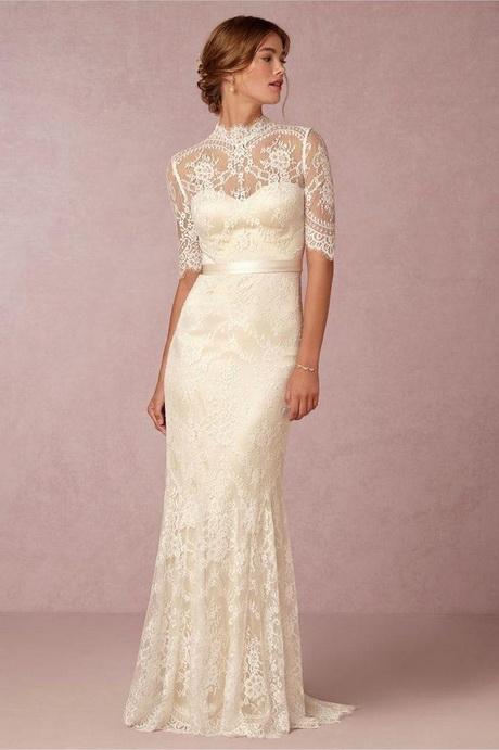 cream lace wedding dresses