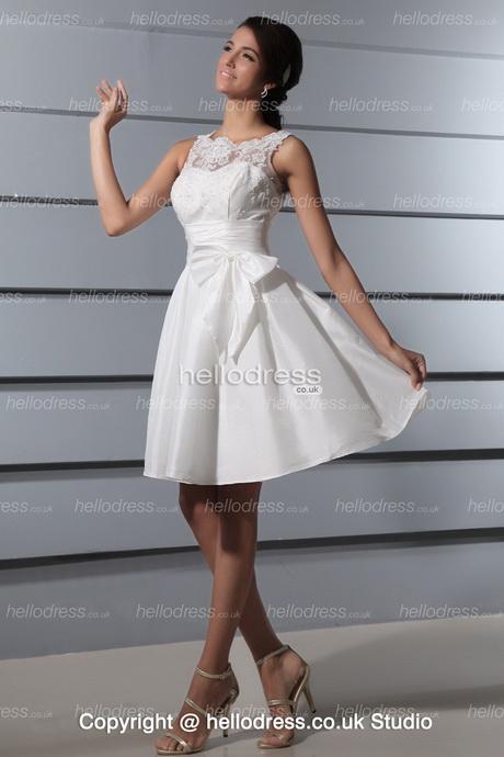 Elegant Short Wedding Dresses