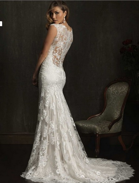 sexy sophisticates style lace applique wedding bridal dress