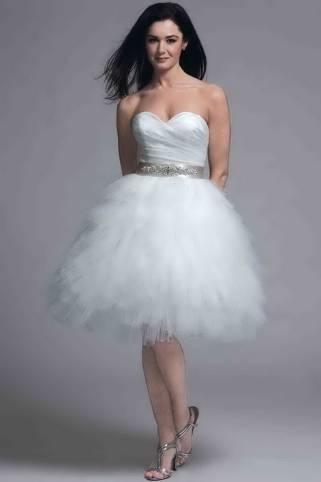 modern short wedding dresses