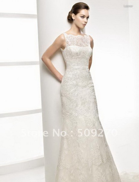 Modern Vintage Lace Wedding Dress
