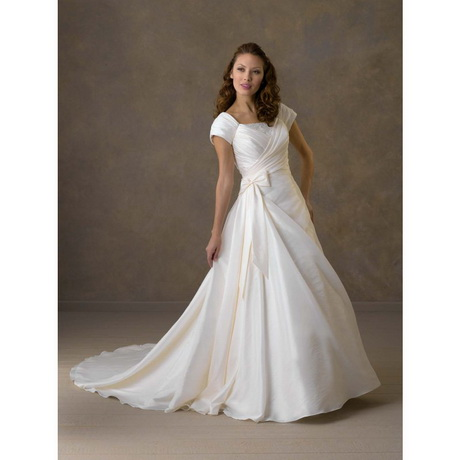 modest short wedding dresses