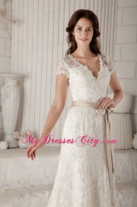 Off white lace wedding dresses for Off white dresses for weddings