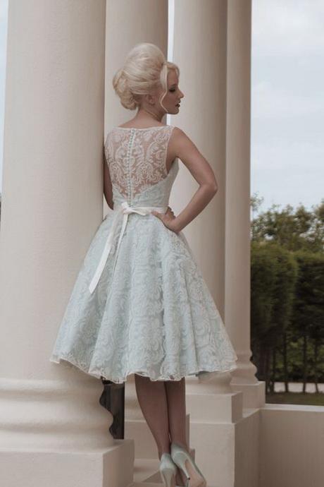 Classic Wedding Dresses Short : Short classic wedding dresses