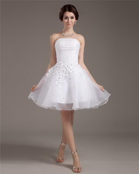 Short Cute Wedding Dresses